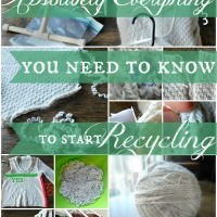 Everything You Need to Know to Start Recycling Sweater Yarn - Getting Started & Breaking In V.1