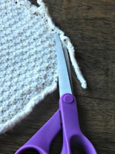 Sweater Recycle Yarn top chop