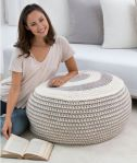 Crochet Stylish Pouf