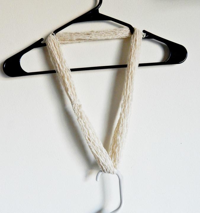 Recycle Sweater Yarn Drying