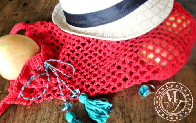Crochet Market Bag 2