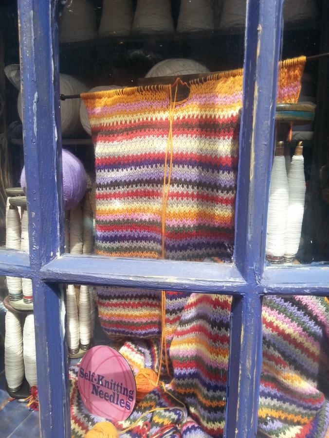 Self - Knitting Needles