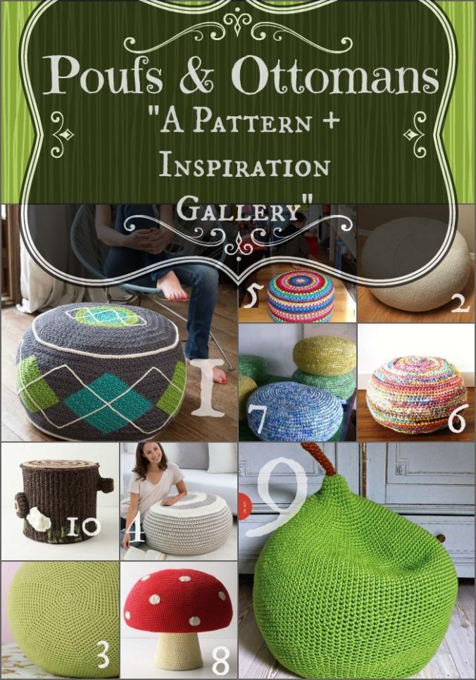 Crochet Pouf Gallery