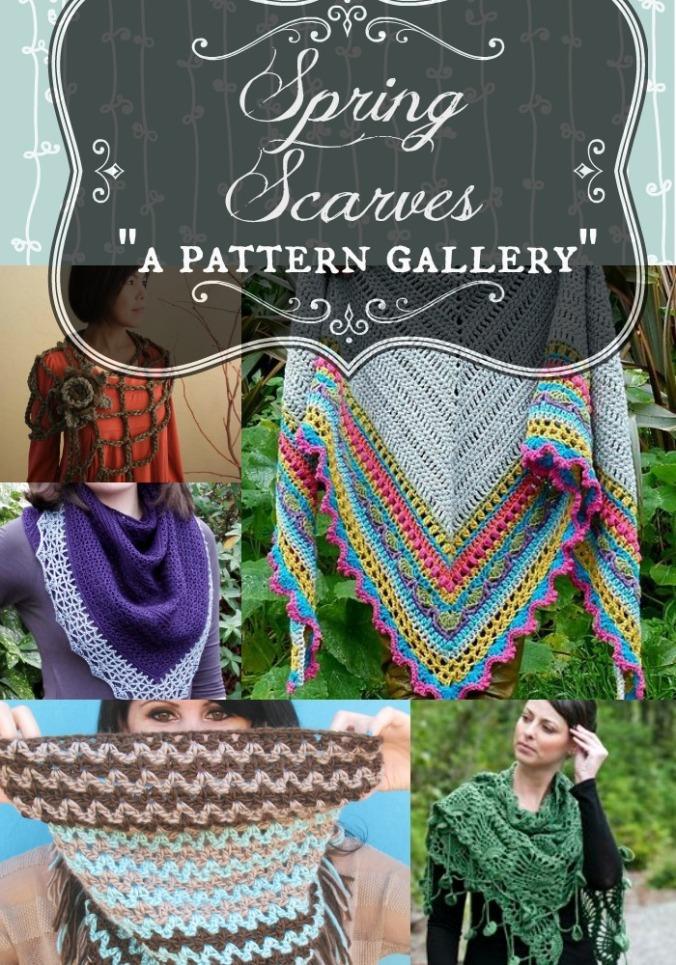 Spring Scarves Gallery