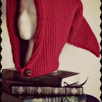 Tunisian Crochet Fantasy Hood