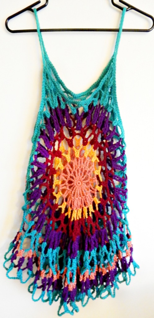 Crochet Mandala Tunic 2