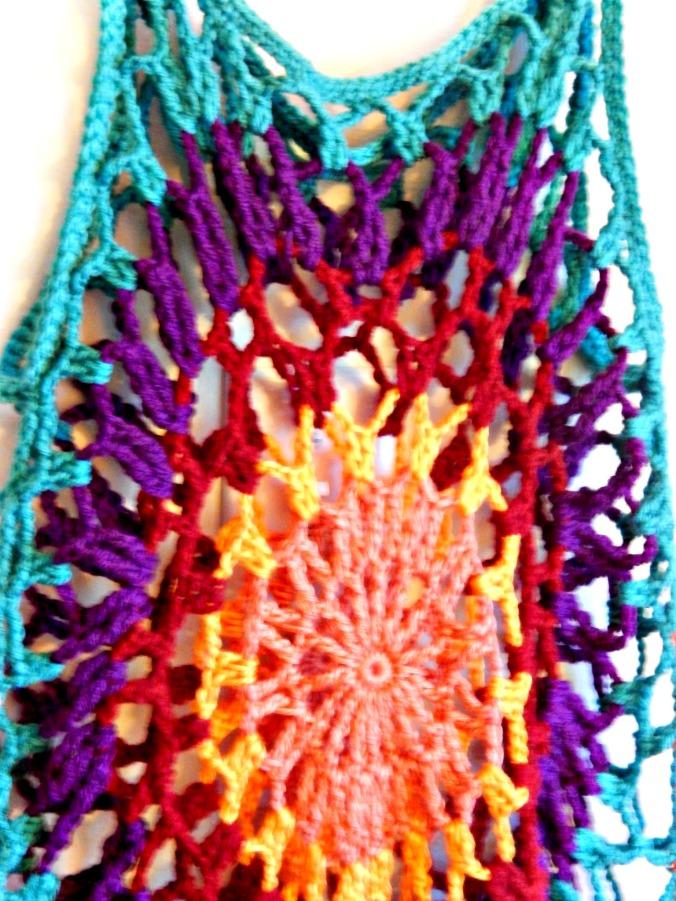 Crochet Mandala Tunic 3