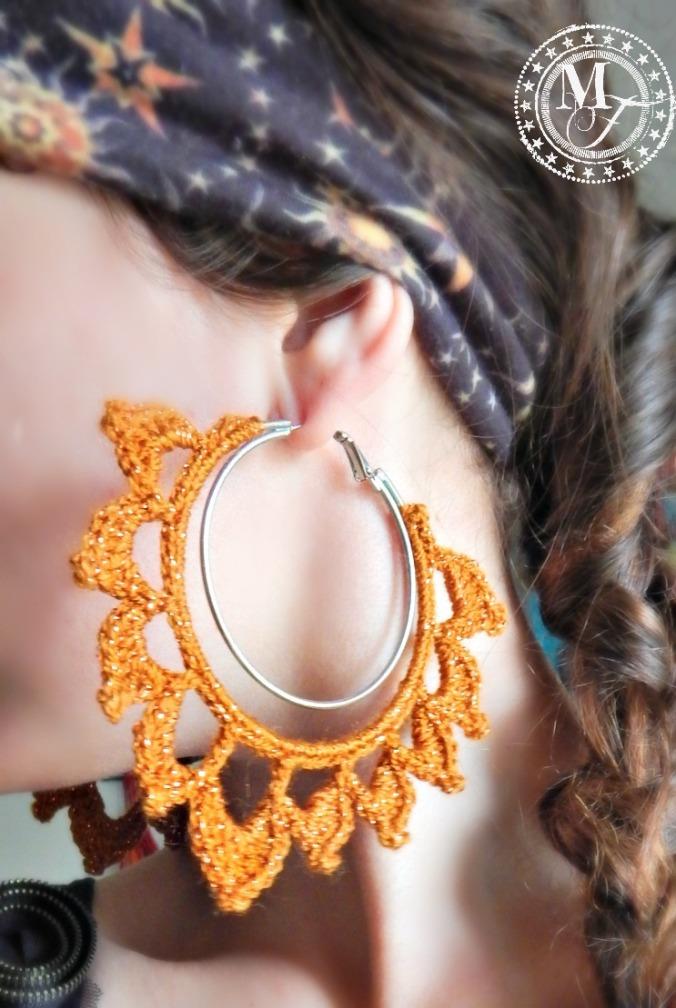 Crochet Earrings 4