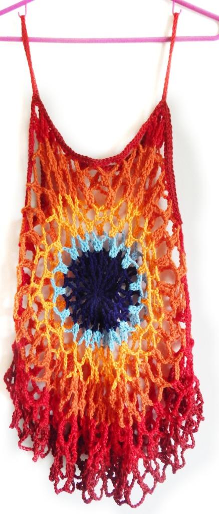 Crochet Mandala Tunic 6