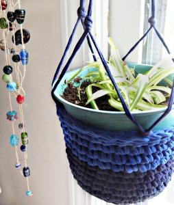 Crochet Plant Hanger 2