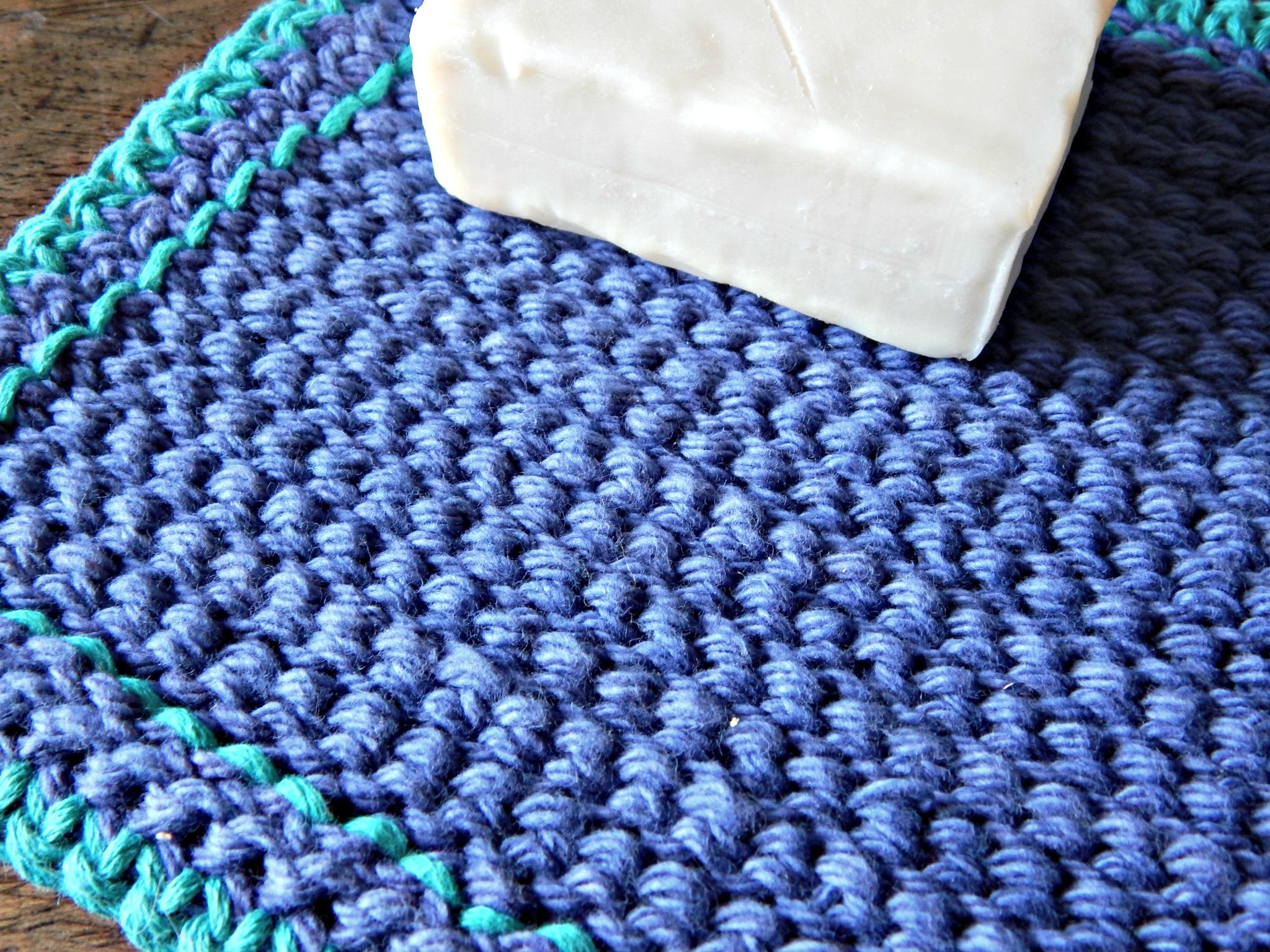 The Best Crochet Washcloth Morale Fiber