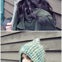Post Stitch Pixie Hat
