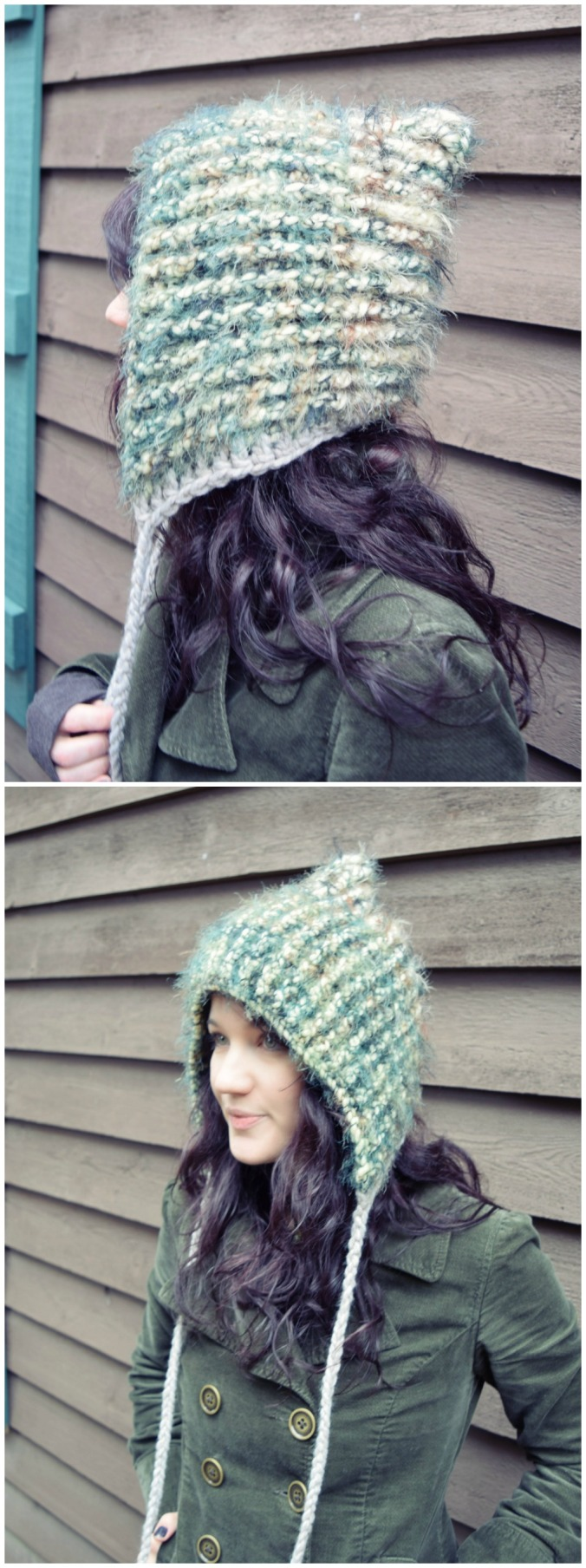 Post Stitch Pixie Hat | Morale Fiber