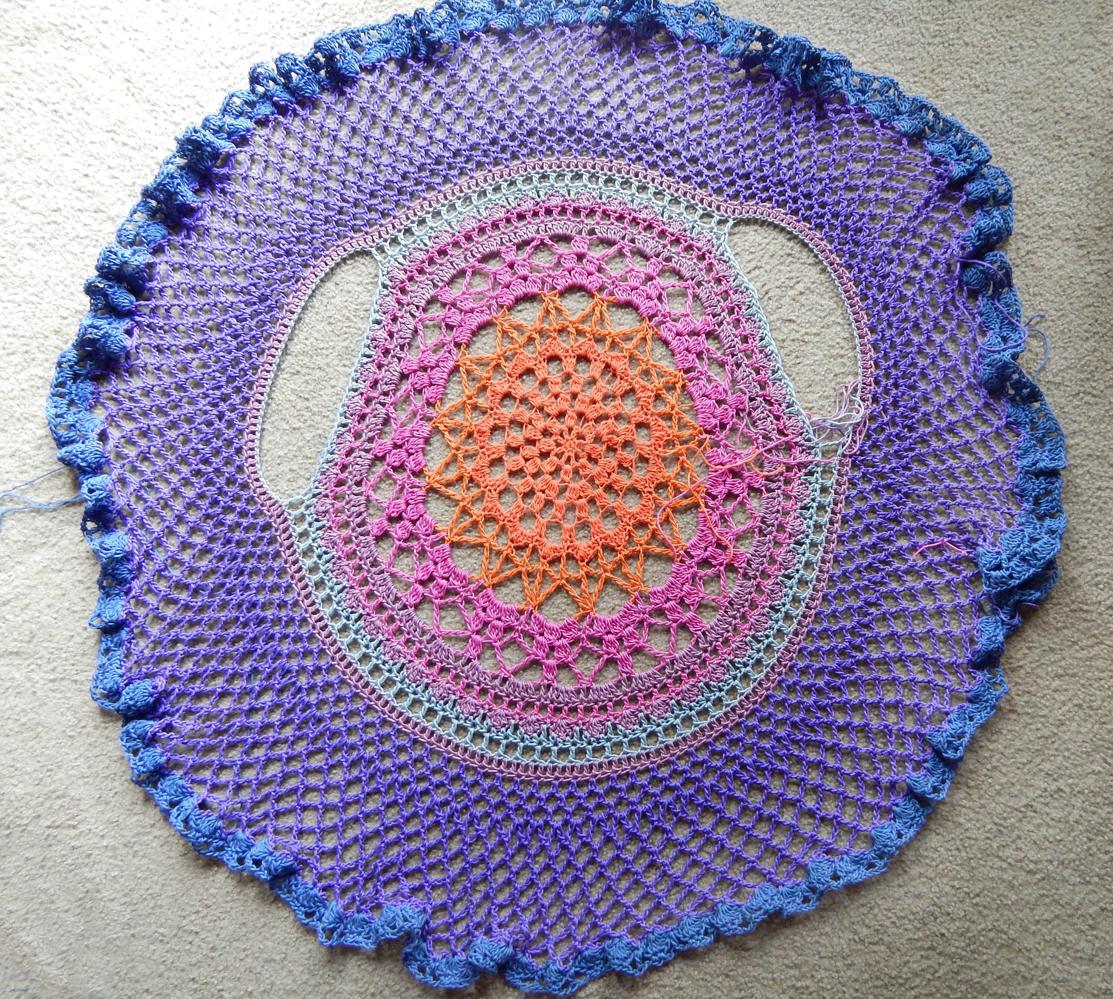 Lotus Mandala Circular Vest Morale Fiber