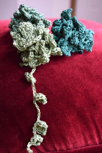 Ivy Crown Free Crochet Pattern Morale Fiber