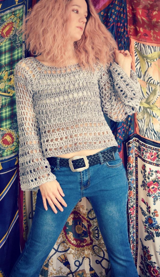 Window Box Sweater Pattern Morale Fiber
