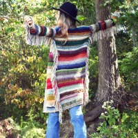 Scrappy Knit Duster