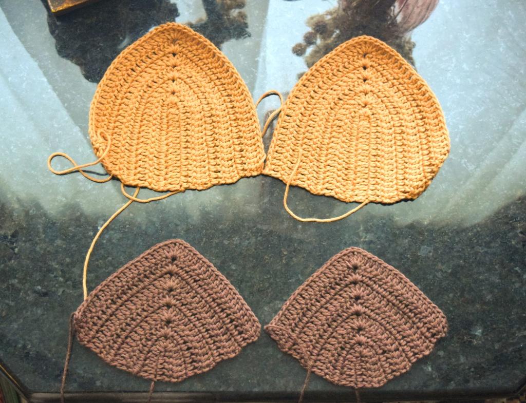 Crochet Bikini Cup
